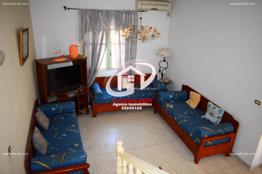 Annonce sur Affariat Tunisie pour: maison à vendre prés du faculté à 10 mn de la plage