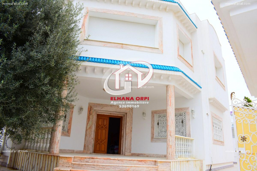 Annonce sur Affariat Tunisie pour: Villa style américain haut standing
