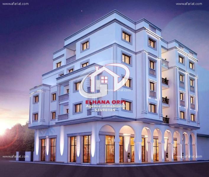 Annonce sur Affariat Tunisie pour: Appartement neuf sur plan et directement au promoteur