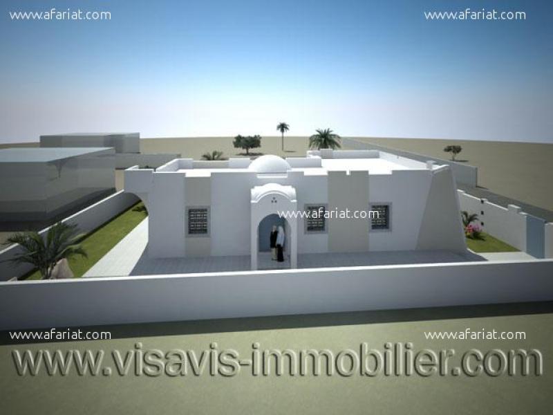 Annonce sur Affariat Tunisie pour: CONSTRUIRE VILLA PLAIN PIED A HOUMT SOUK