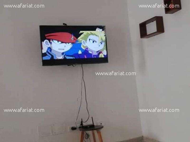 Annonce sur Affariat Tunisie pour: S+1 avec  internet pour courte durée 60 dt