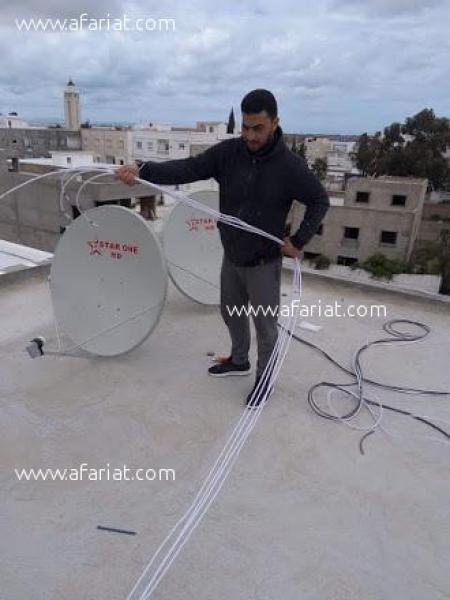 Annonce sur Affariat Tunisie pour: Technicien en installation et réparation des paraboles