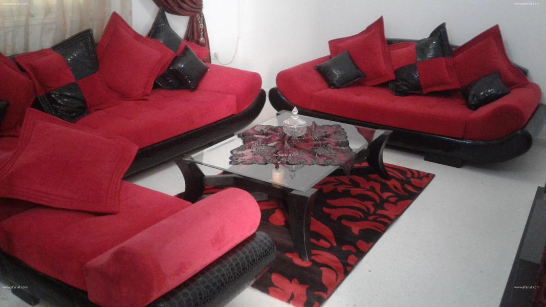 Salon Living Tapis Table Basse Rideaux