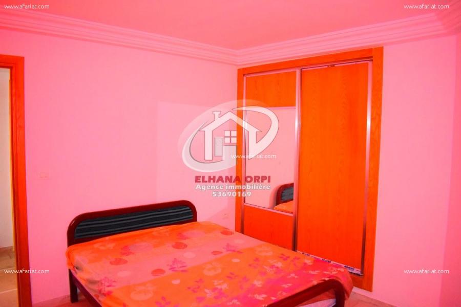 Annonce sur Affariat Tunisie pour: appartement s+1 pour vacance d'été