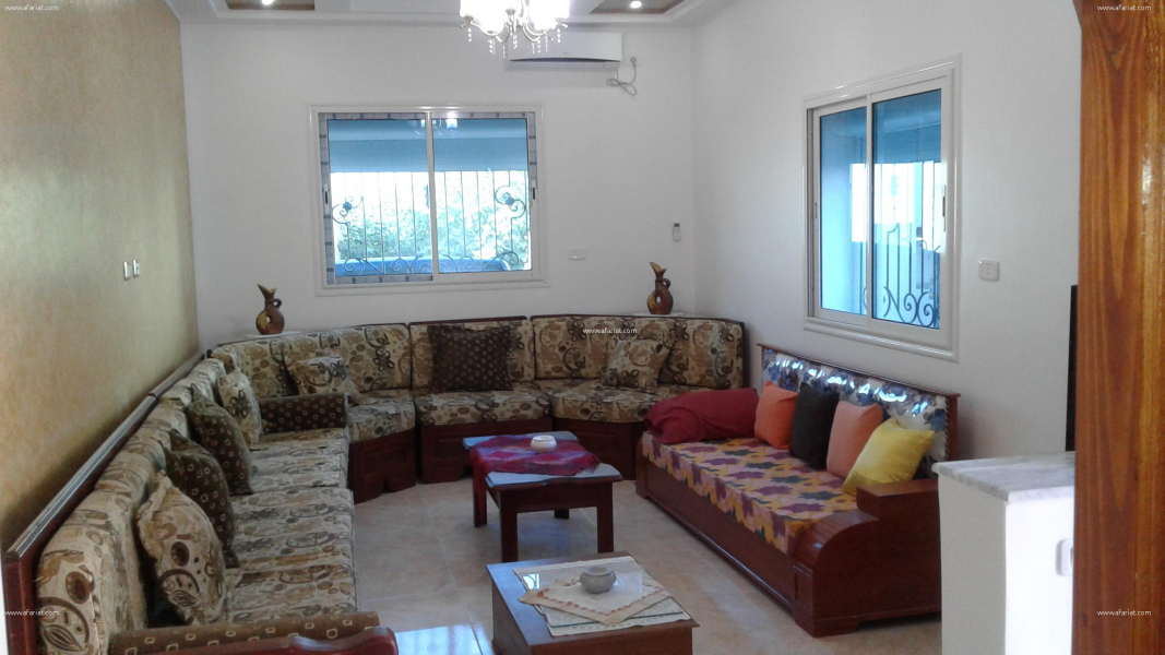 villa studio meubl t confort 3min plage klibia