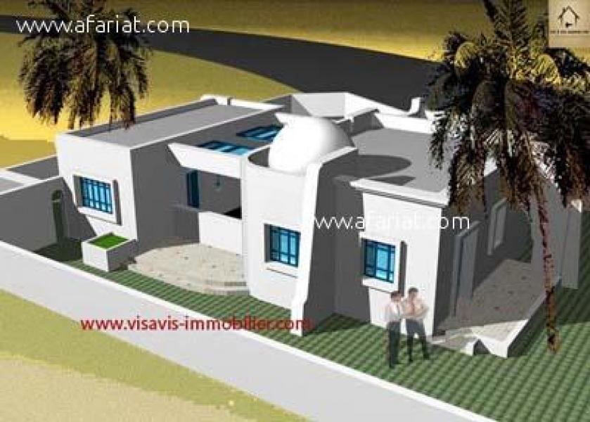 Annonce sur Affariat Tunisie pour: PROJET DE CONSTRUCTION A HOUMT SOUK DJERBA
