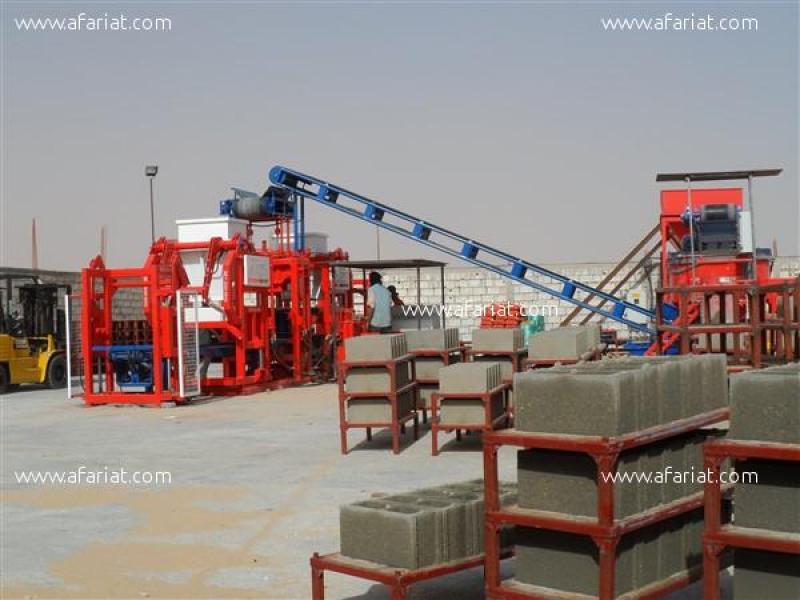 Annonce sur Affariat Tunisie pour: Machine a parpaing / Brique - et pave - Bordure