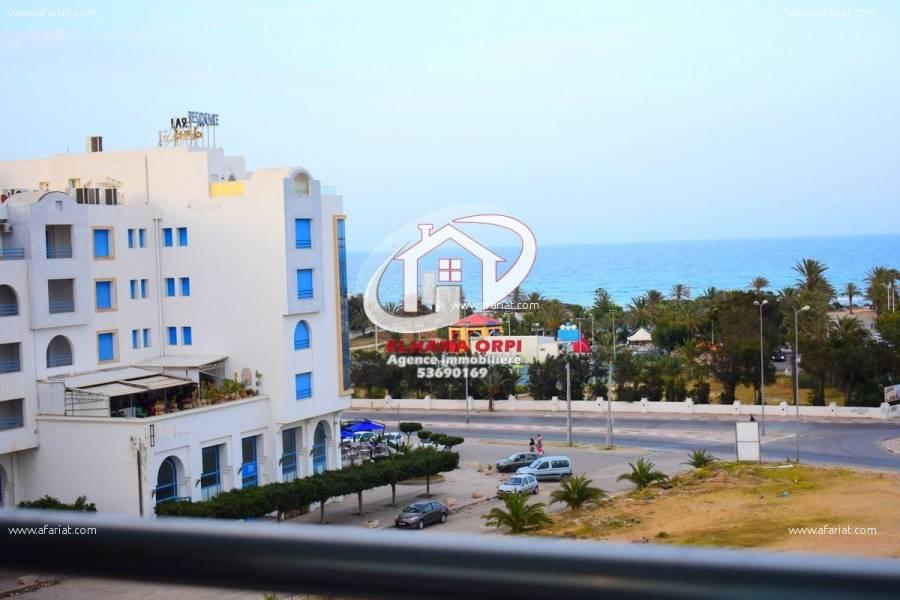 Annonce sur Affariat Tunisie pour: APPARTEMENT S+2 VUE SUR MER