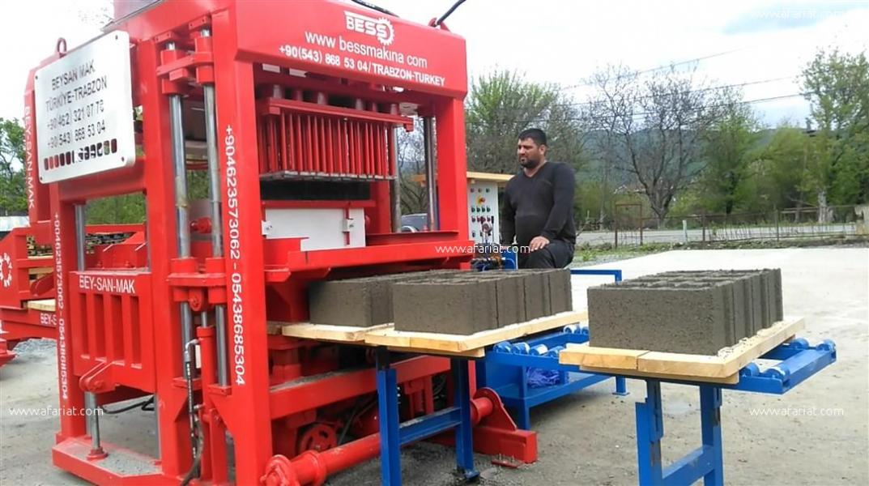 Annonce sur Affariat Tunisie pour: Machine de Brique en Beton