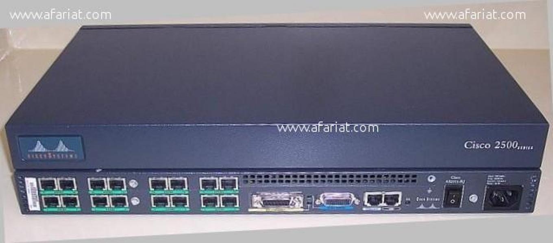 Annonce sur Affariat Tunisie pour: Routeur Cisco 16 ports série 2511 Access Server 2500