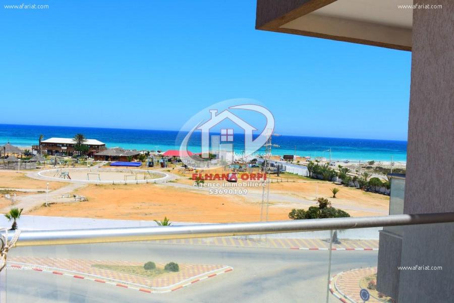 Annonce sur Affariat Tunisie pour: Appartement rejich pied dans l'eau avec vue sur mer