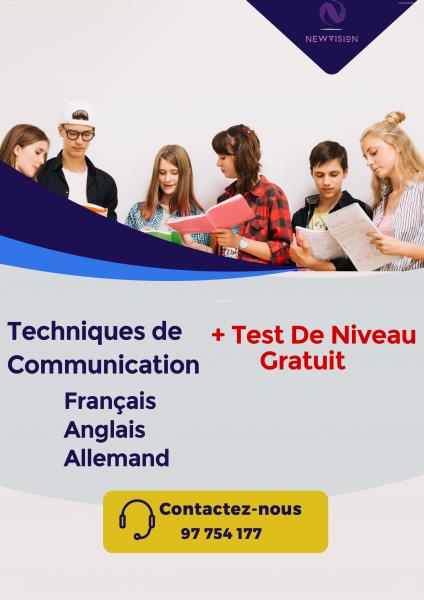 Annonce sur Affariat Tunisie pour: Session De Techniques De Communication