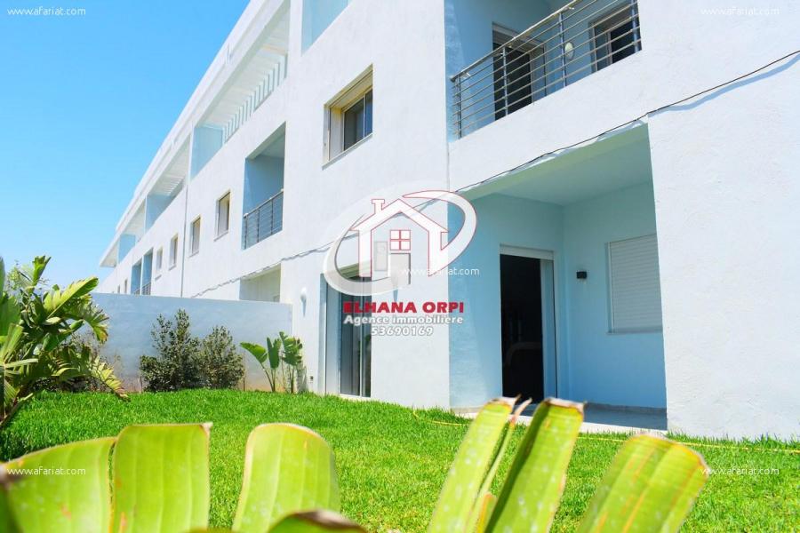 Annonce sur Affariat Tunisie pour: RDC s+3 avec jardin très haut standing