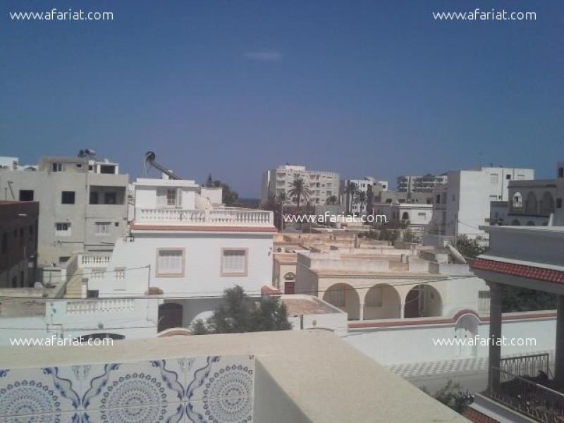 Annonce sur Affariat Tunisie pour: studio au bord de la mer a 500 dt par semaine