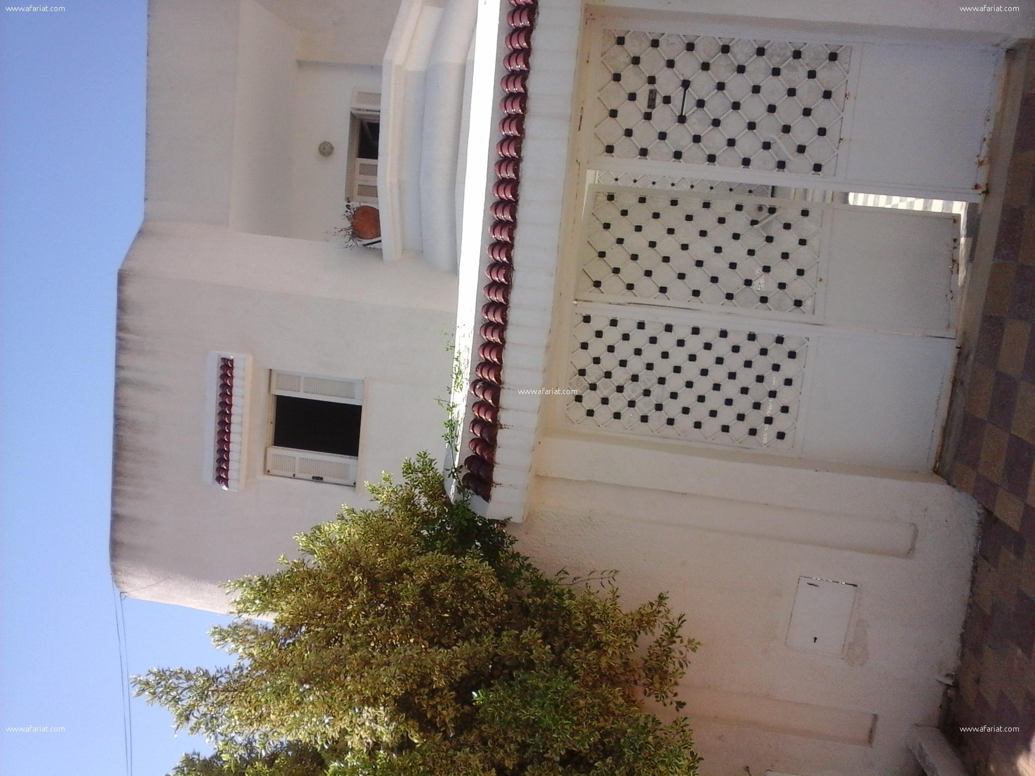 Grande Villas 210m2 Jardin 10 min Sud Tunis