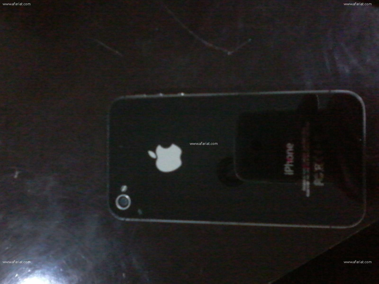 iphone 4S NOIR
