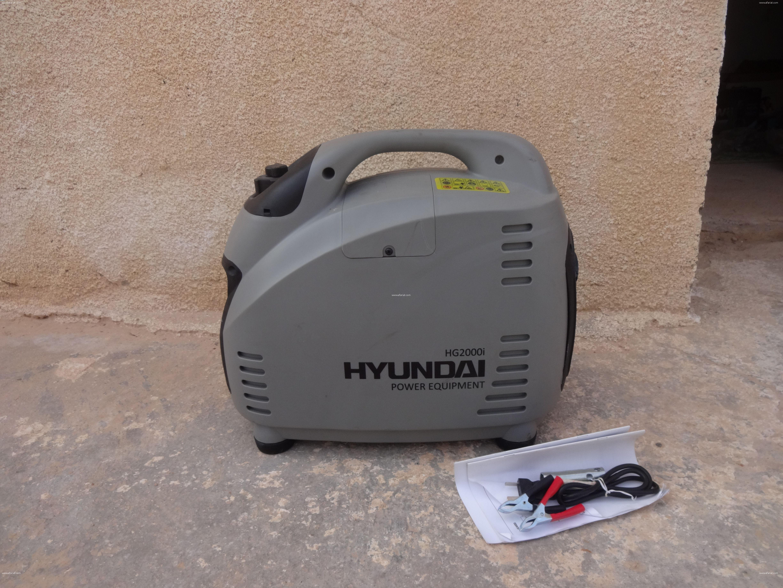 Groupe électrogène Inverter HG200I HYUNDAI