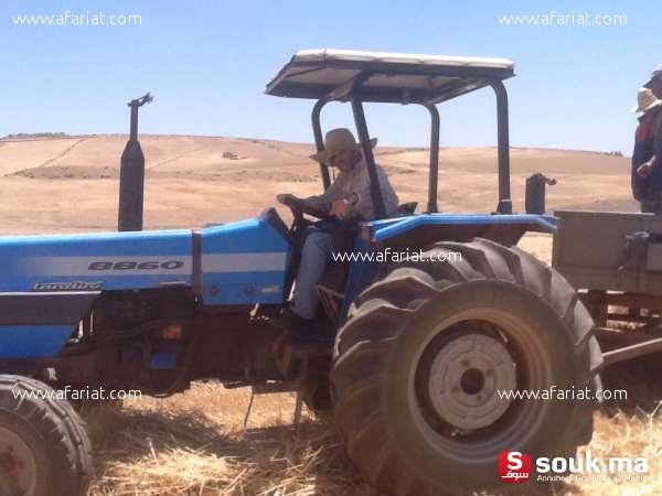 A vendre tracteur Landini type 8860