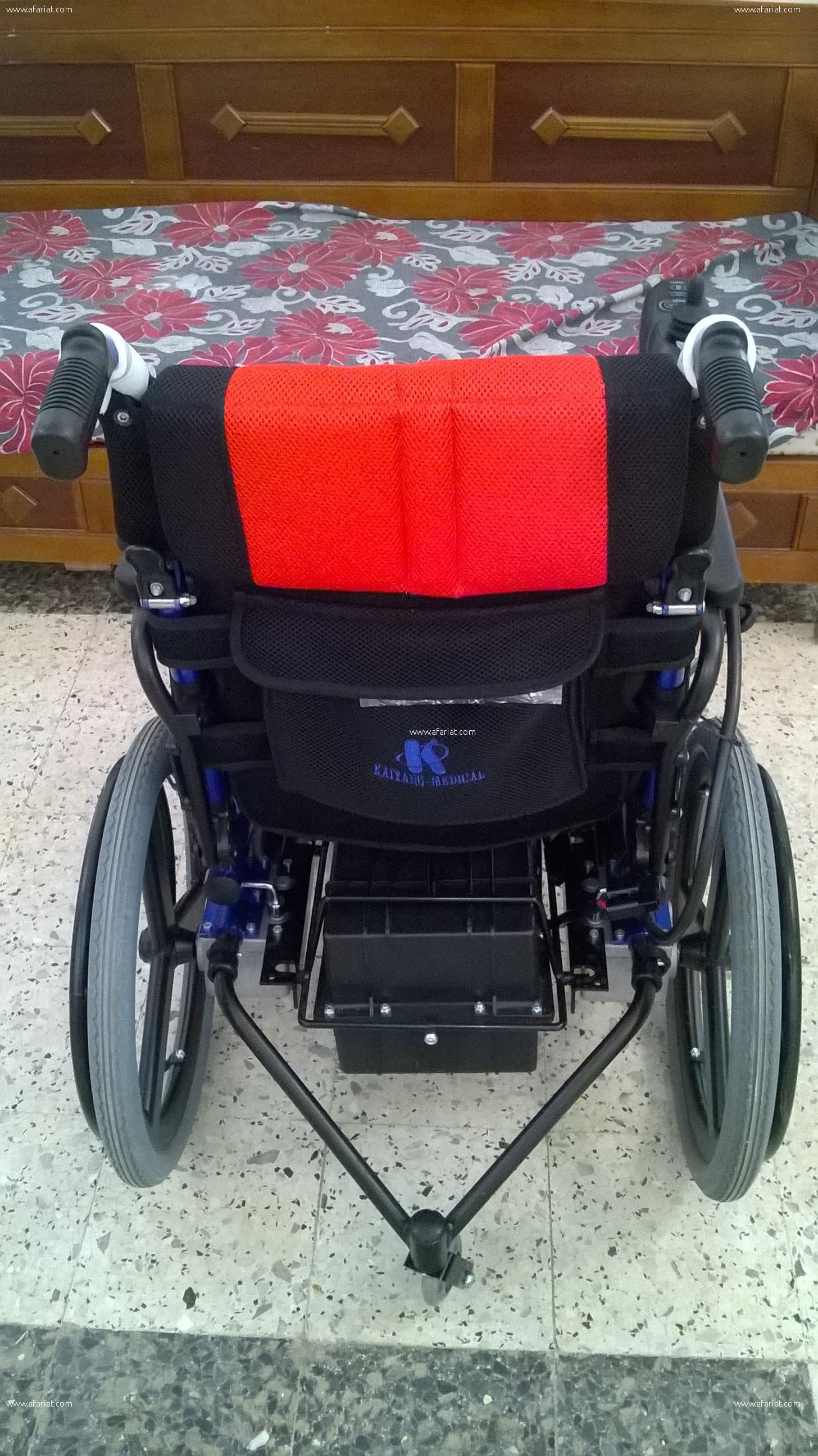 chaise roulante électrique toute neuve