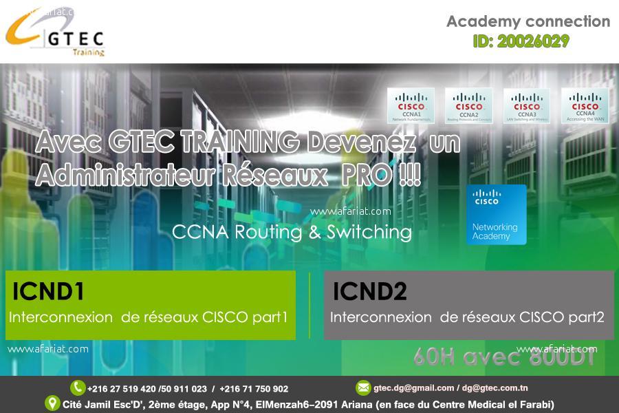Formation en CISCO CCNA