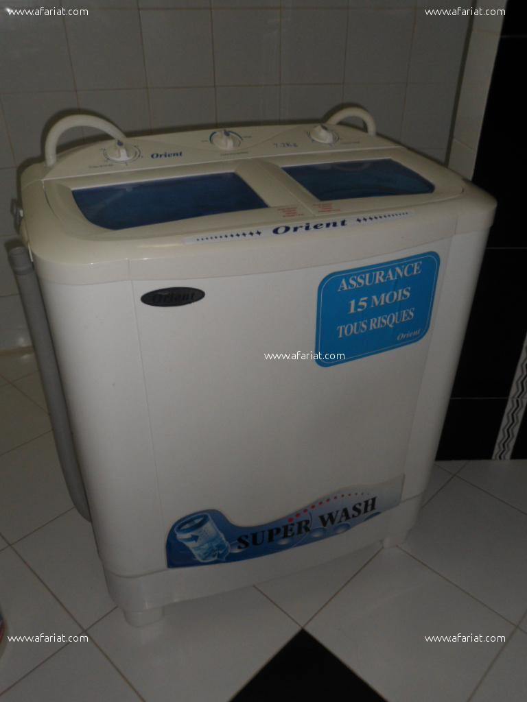 machine à laver semi automatique