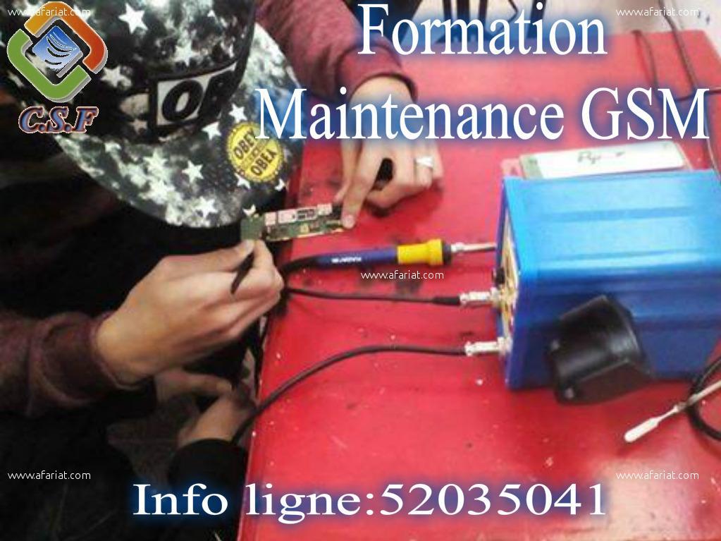 Formation Maintenance Téléphones Portables