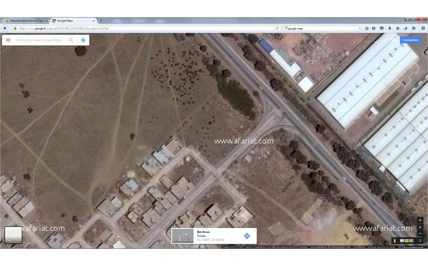 Terrains commercial 260m2 à mghira