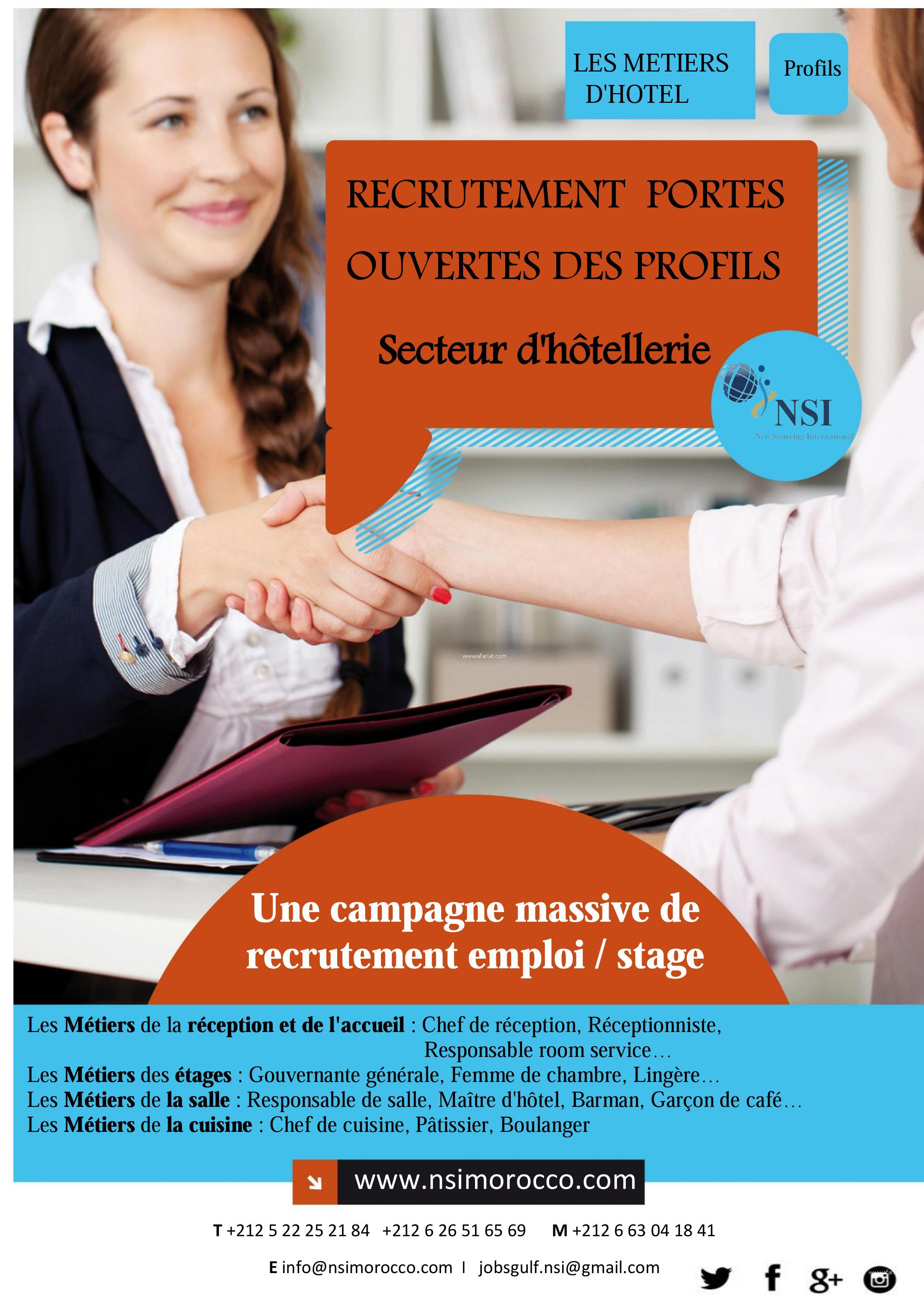 Recrutement Massive