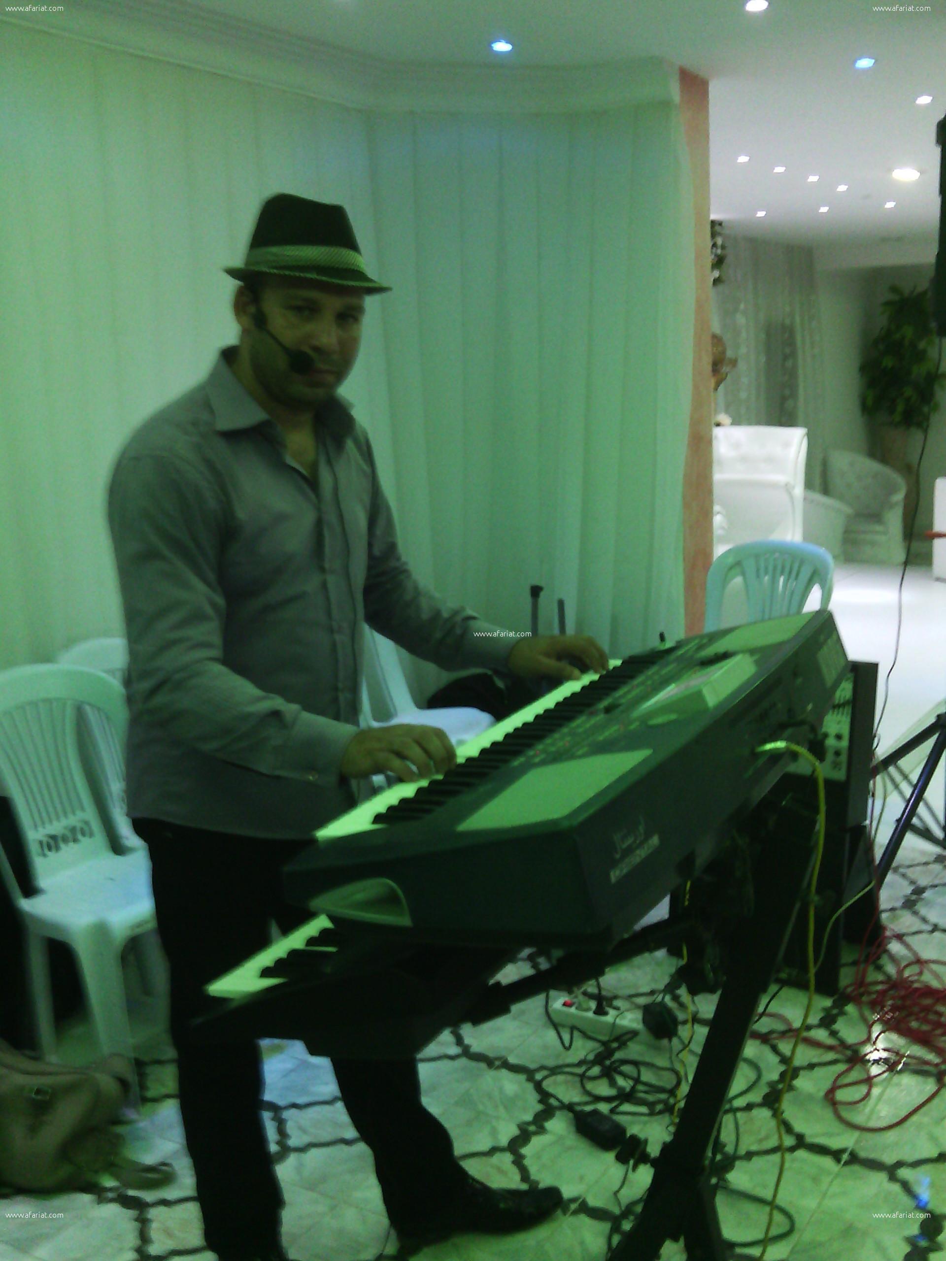 walid chaker organiste chanteur