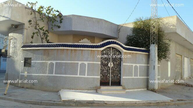 villa acouté de station de louage taffala sousse