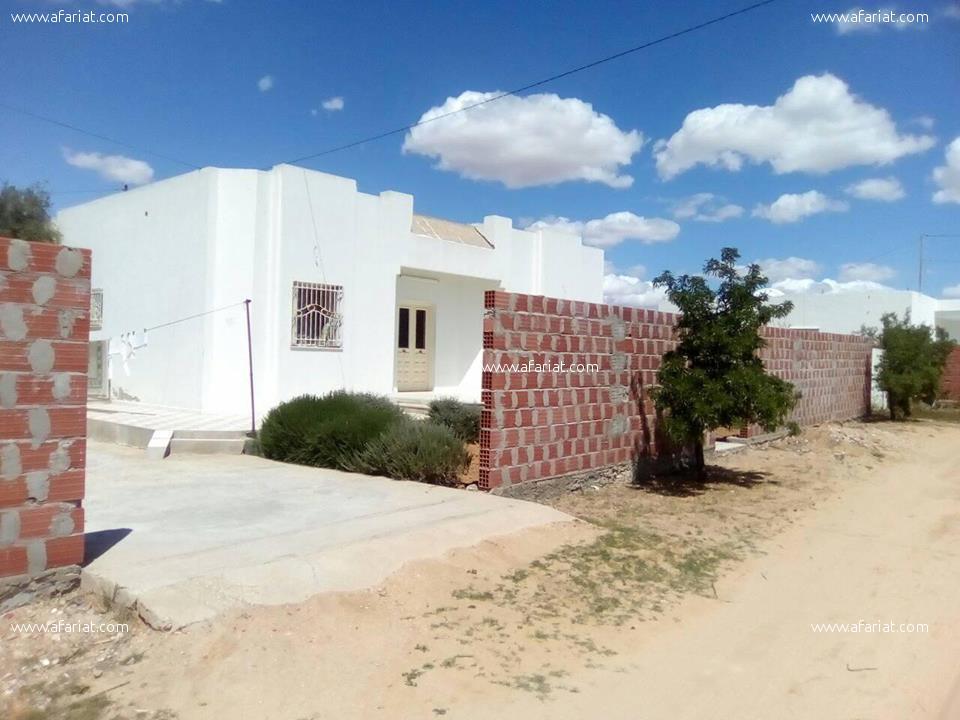 villa a vendre a route l'afrane klm 9