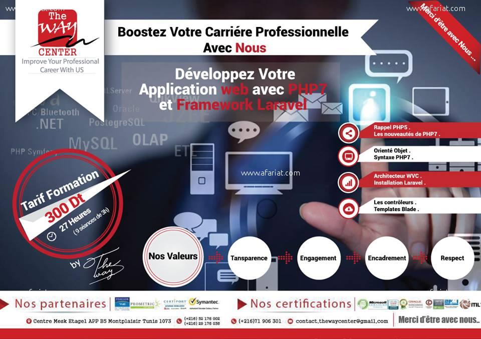 Développez votre application Web En Framework Laravel