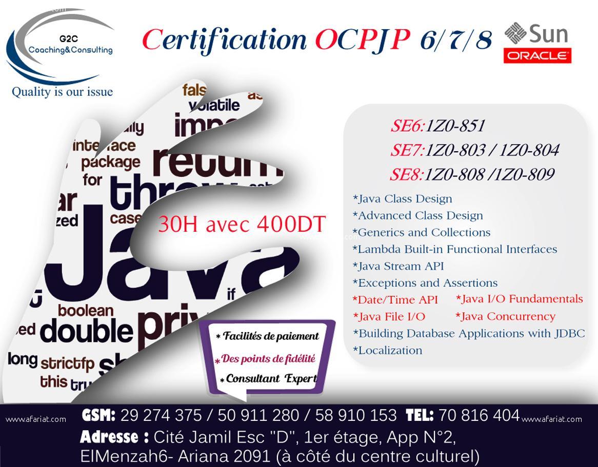 Formation OCPJP