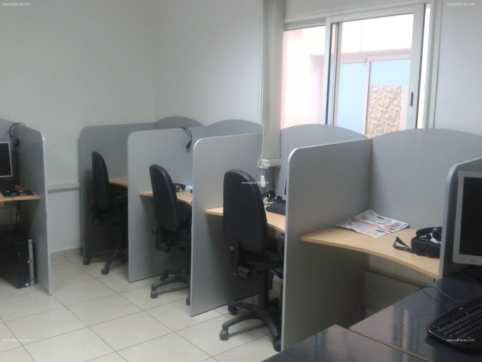 Vente centre d'appels a Sousse centre ville