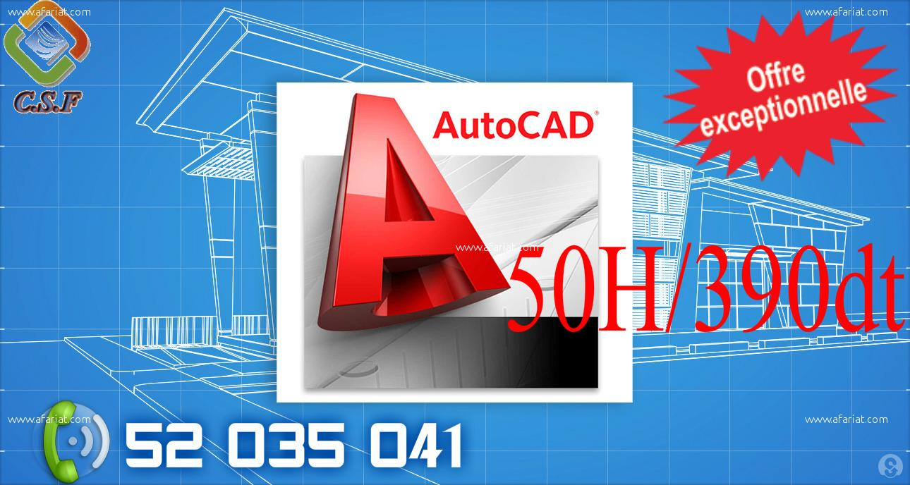 Formation pratique AutoCAD et espagnole